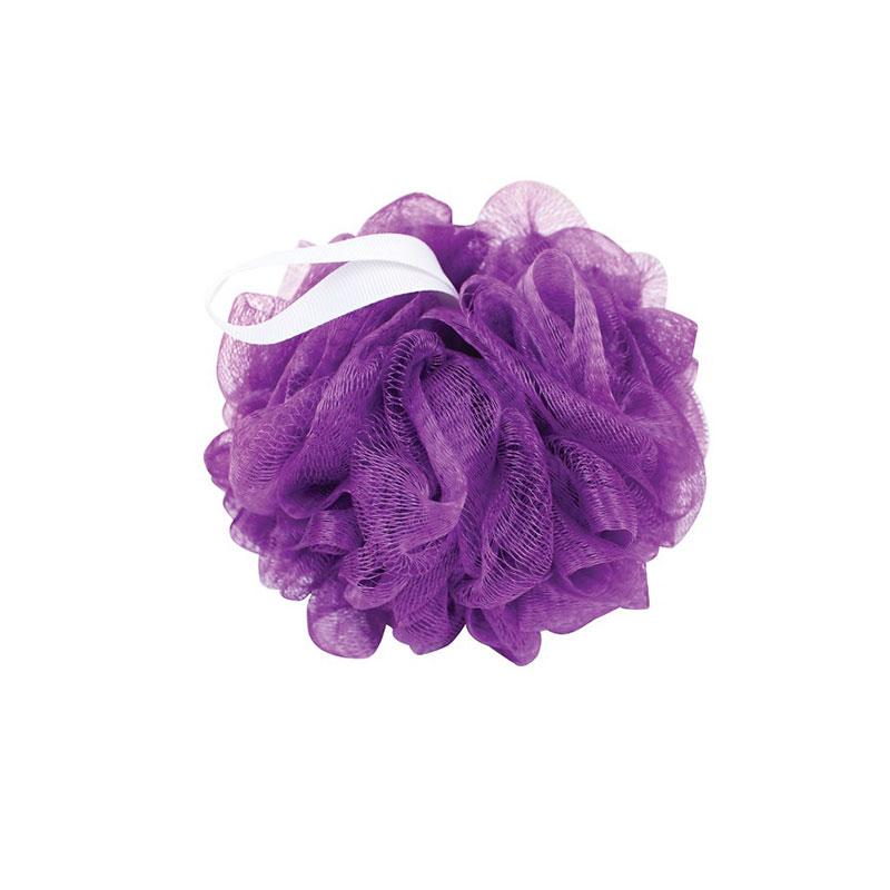 Body Sponge with nylon rope - Purple (Item Code 2255)