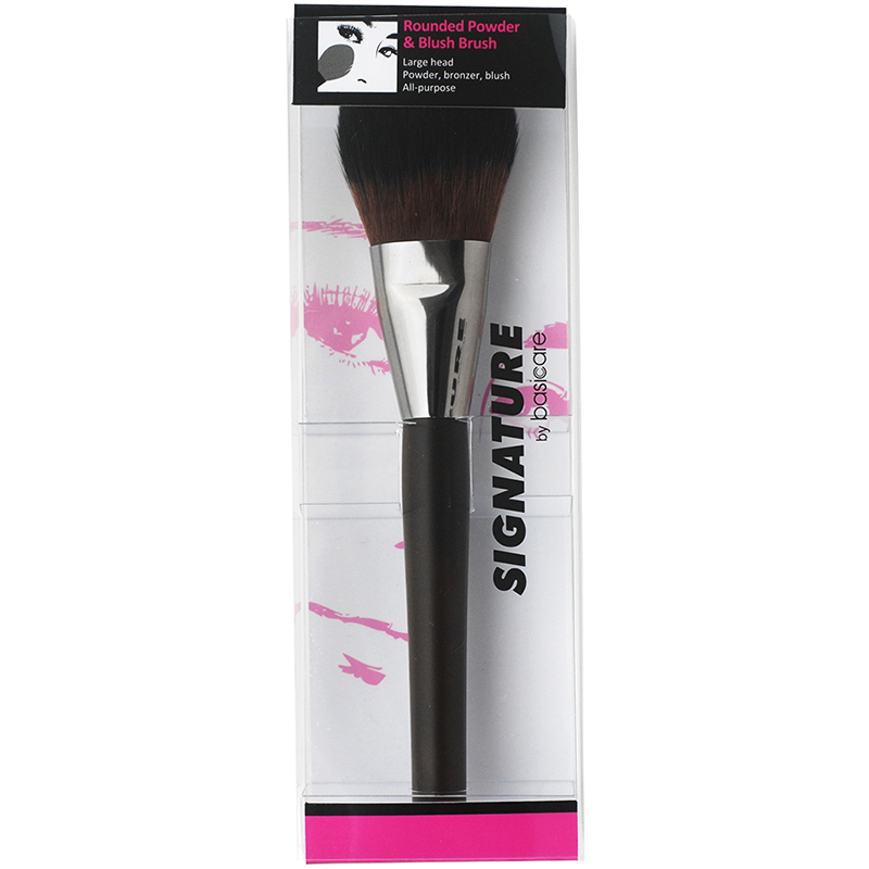 Signature Rounded Powder & Blush Brush brush (Item Code 5022)