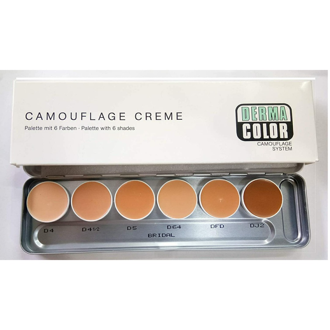 DC CREAM PALLET 6 SHADES-BRIDAL