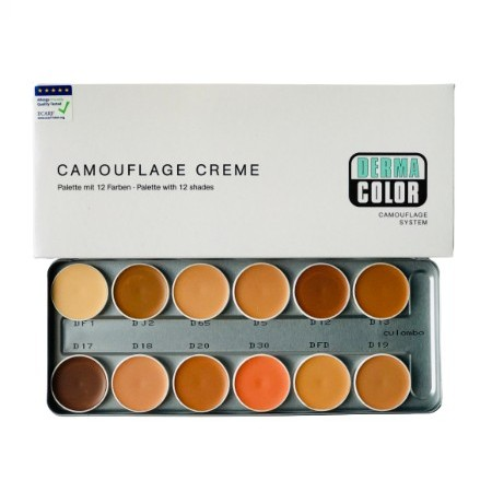 DC CREAM PALLET 12 SHADES