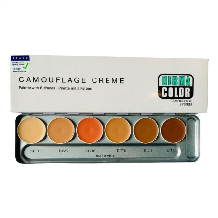 DC CREAM PALLET 6 SHADES